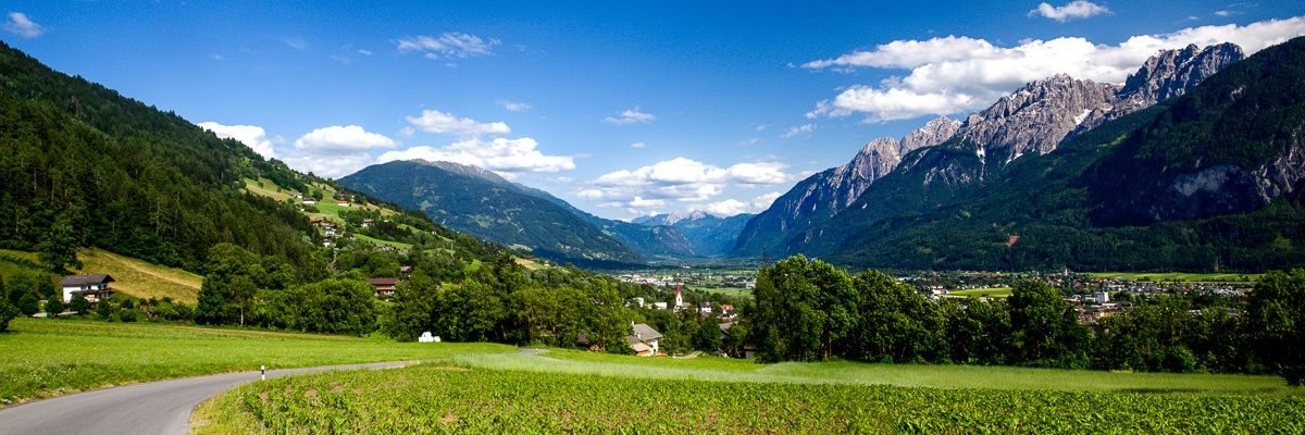 Cycling holidays in Austria – panorama