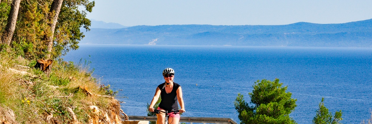 Cycling holidays in Croatia – panorama