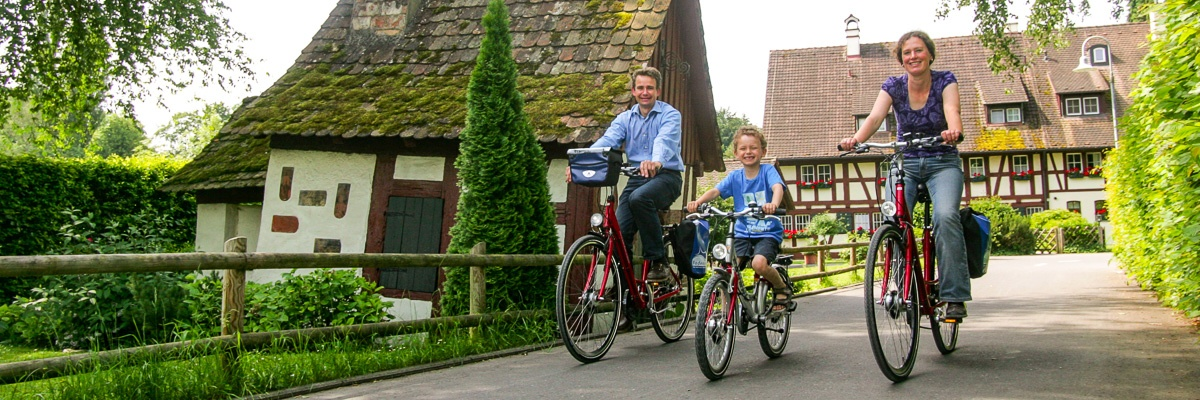 Family cycling holidays - Panorama