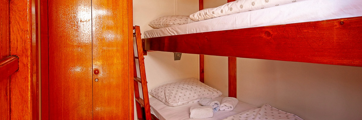 MS Orkan, cabin with bunk bed