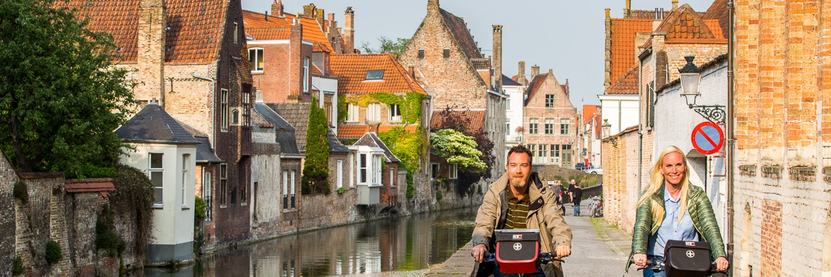 On the way in Bruges