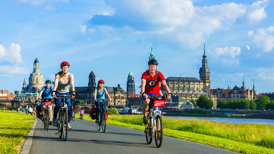Centre Based Cycling Tour Dresden
